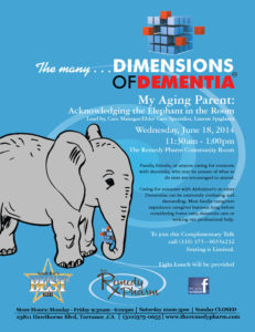 Dimensions of Dementia