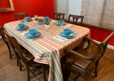 South Bay Memory Care cutomized dining